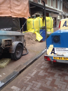Lenarduzzi vloeren Armani PC hoofdstraat Amsterdam